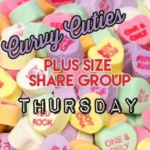 Tops - 2/14 (CLOSED) PLUS SHARE GROUP: Curvy Cuties